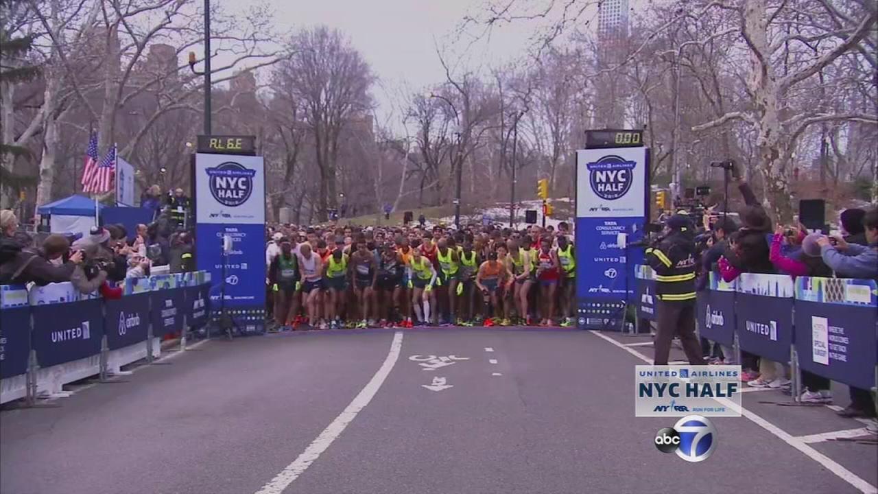 NYC Half Marathon Part 4