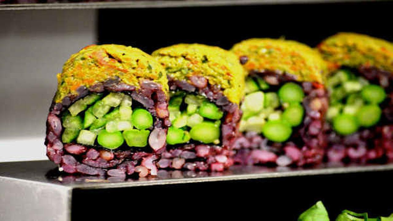 PHOTOS: Exploring the foods at NYC Vegetarian Food Festival Sabrina Szteinbaum