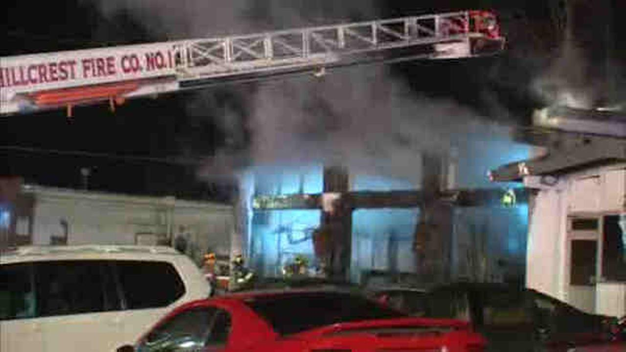 Hillcrest Auto Body Shop In Spring Valley Burns Down