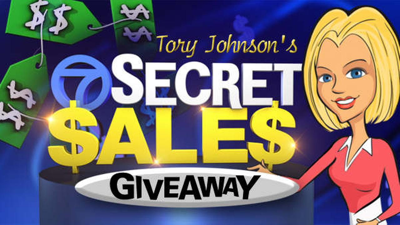 secret sales giveaway