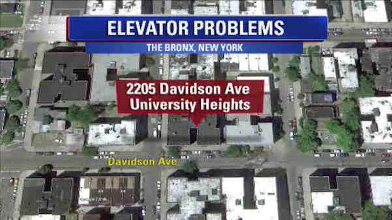 3 stuck in Bronx elevator