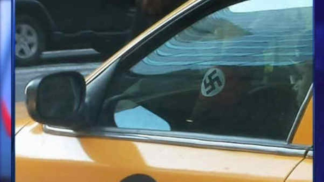 TLC suspends New York City cab driver wearing Nazi armband