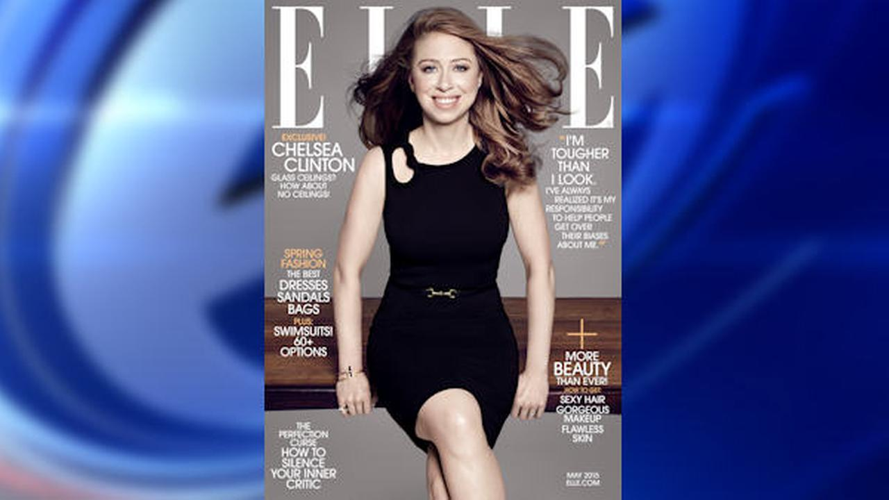 Chelsea Clinton on May cover of ELLE Magazine