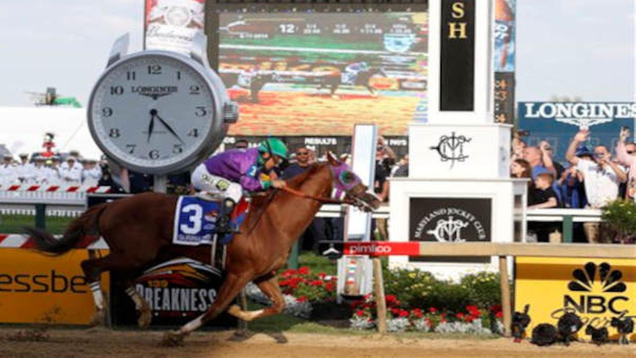 California Chrome wins 139th Preakness Stakes, setting up chance for Triple Crown.