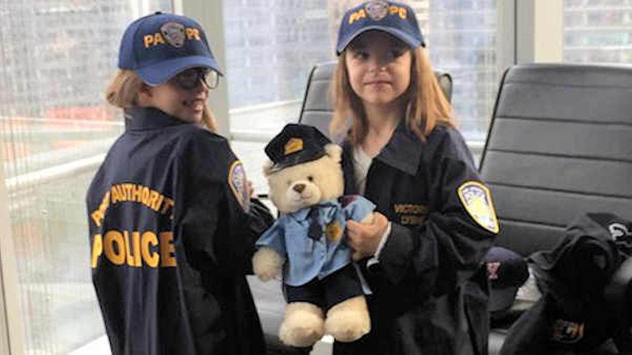NYPD honors sisters who donated Christmas money to fund for gunned-down officers