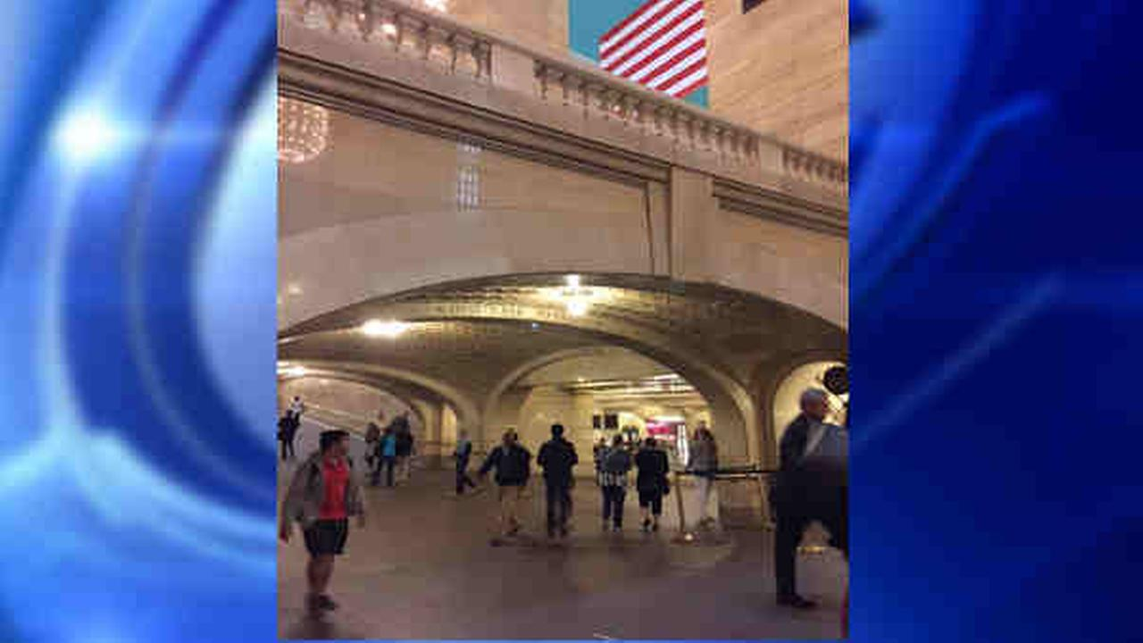 Man falls down 2 flights of stairs at Grand Central Terminal