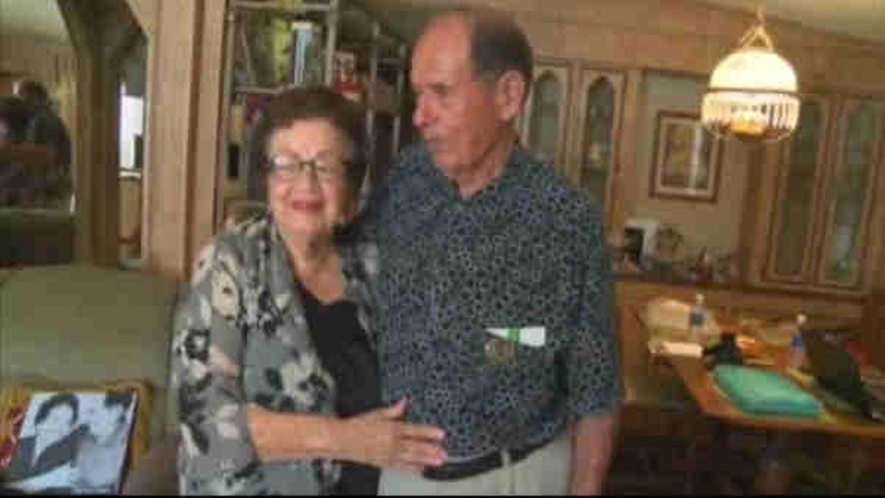 Couple married for 70 years receive 150 celebrity letters