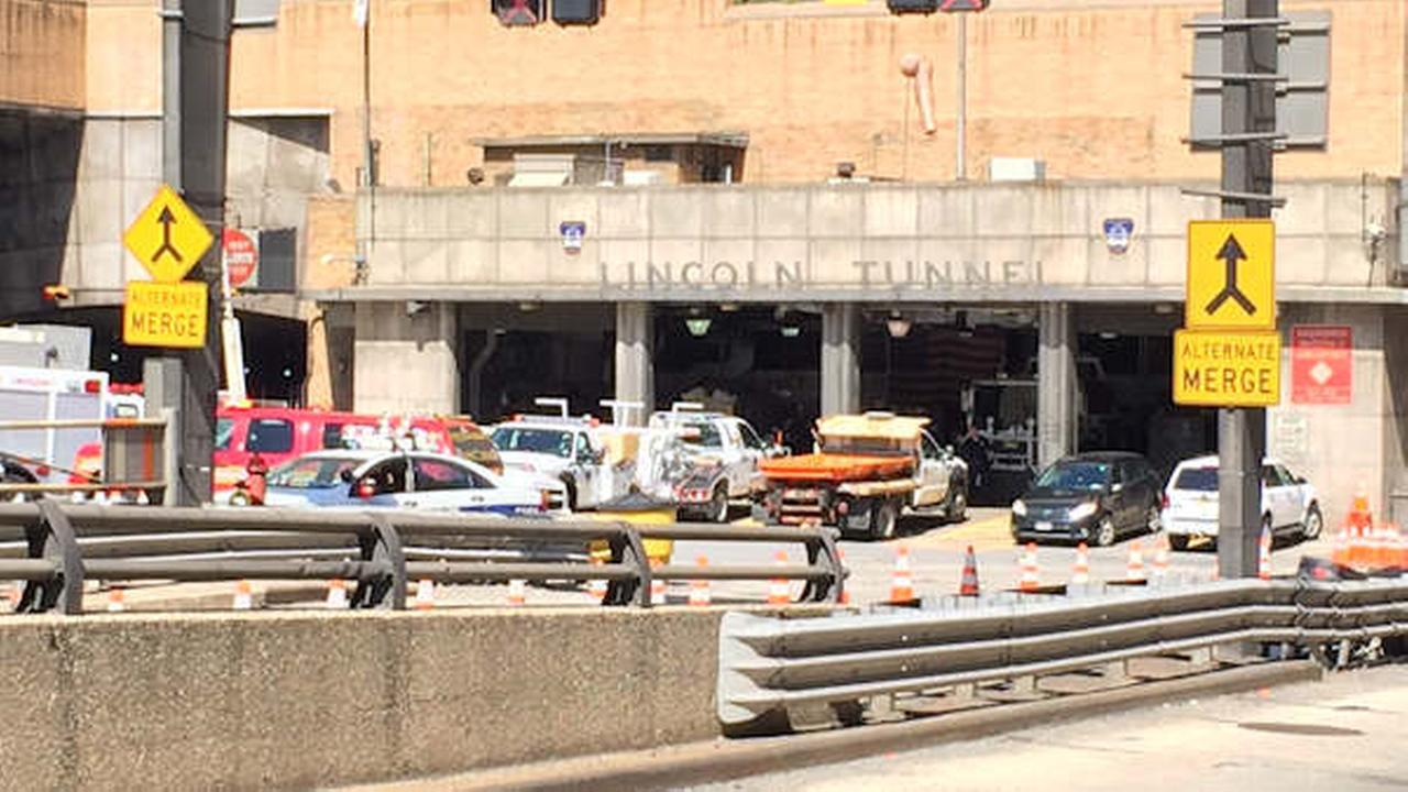 Lincoln Tunnel bus accident