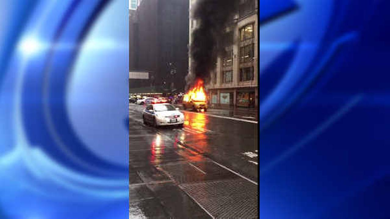 Car Fire Abc7ny Com