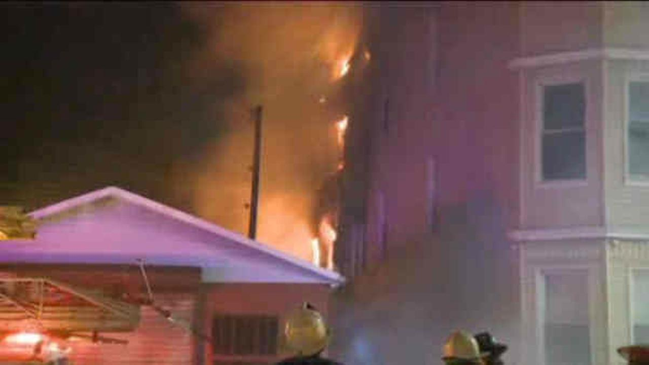 Fire guts multi-family home in Harrison
