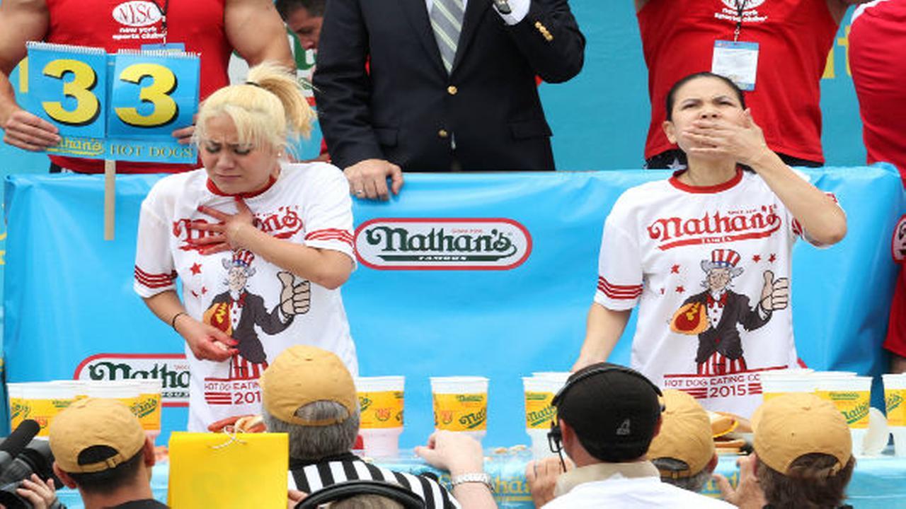 Hot Dog ContestTina Fineberg