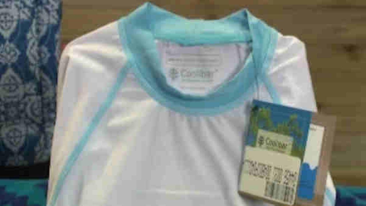 Consumer Reports rates sunblock clothing