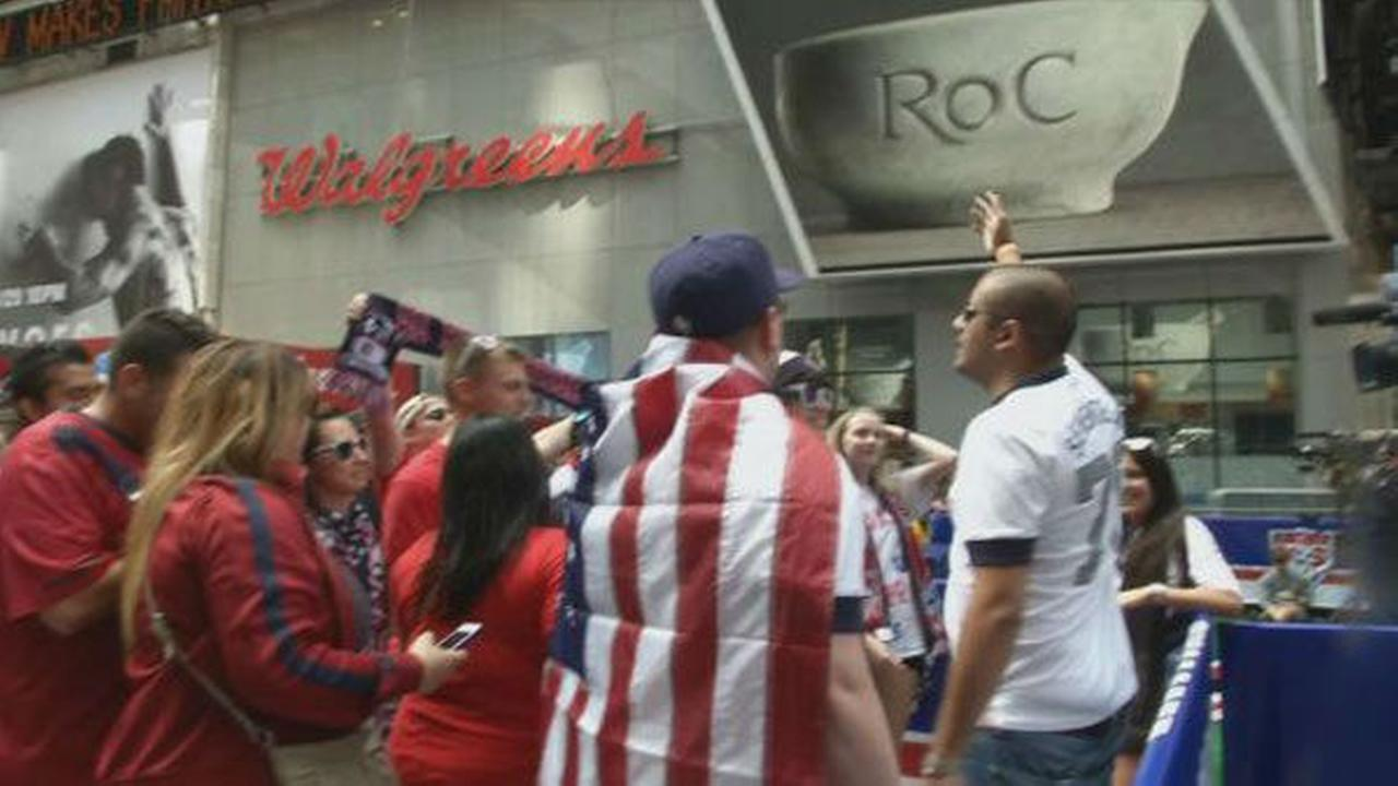 U.S. Soccers Fan Appreciation Day in New York/PresserCandelieri, Domenick S.