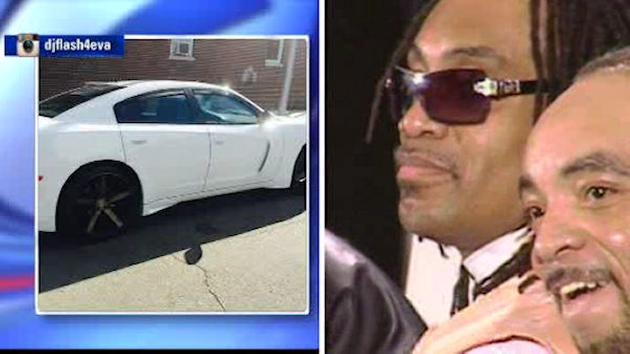 Grandmaster Flash says car stolen from Chelsea parking garage