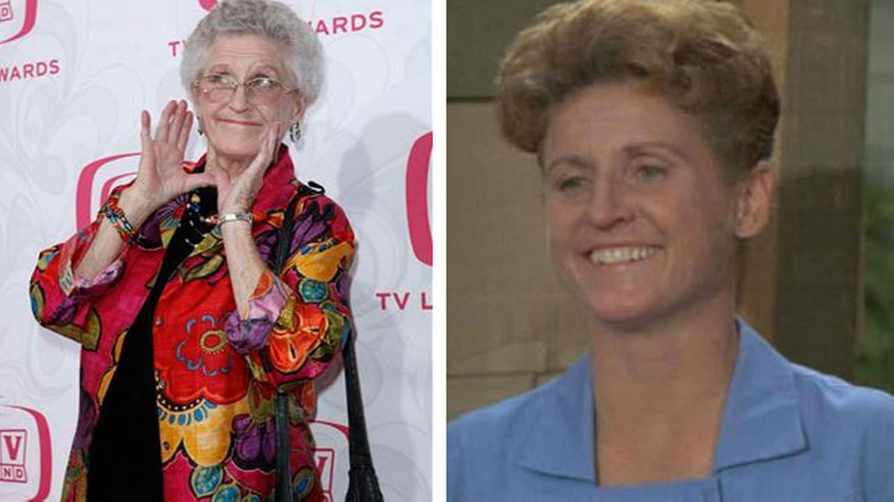 Ann B. Davis, who became Americas favorite housekeeper as Alice Nelson of The Brady Bunch, died June 1 at age 88.(AP Photo/Gus Ruelas)
