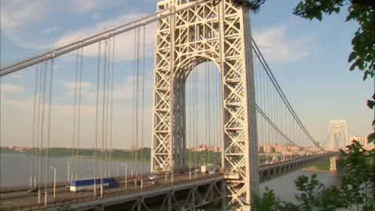 George Washington Bridge construction this weekend