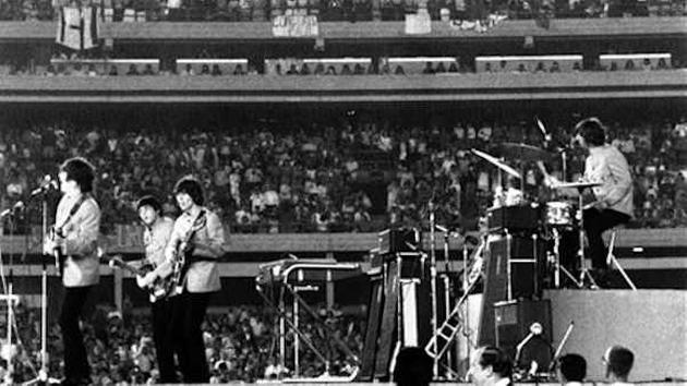 Beatles performed at Shea Stadium 50 years ago