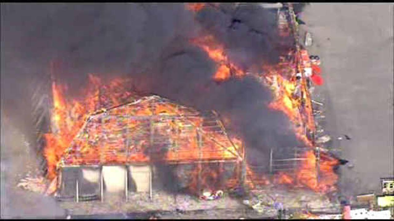 NYS Thruway electrician charged with starting fire that destroyed Larchmont salt shed