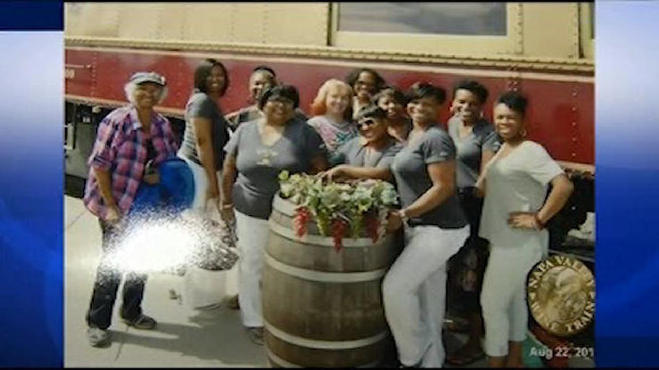 Napa Valley wine train orders off black women's book club