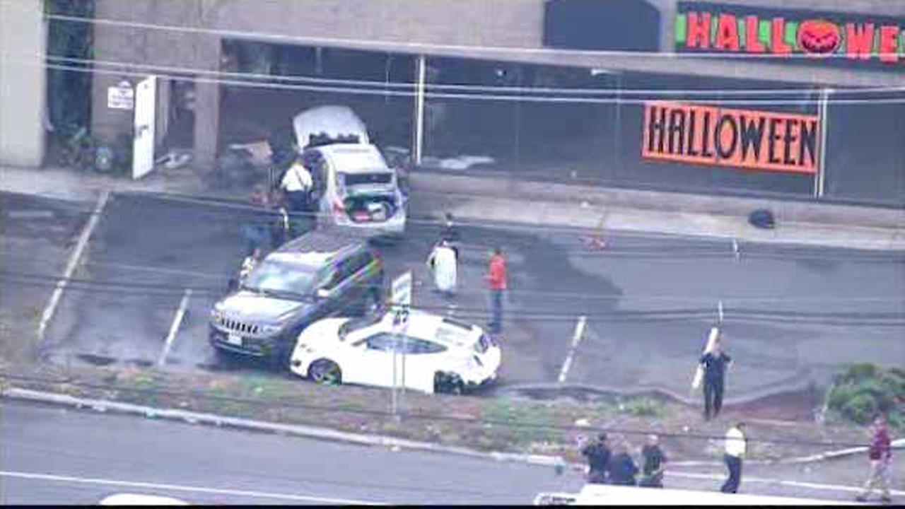 wild chain of events in nj shooting carjacking and crash into halloween store - Halloween Store New Jersey
