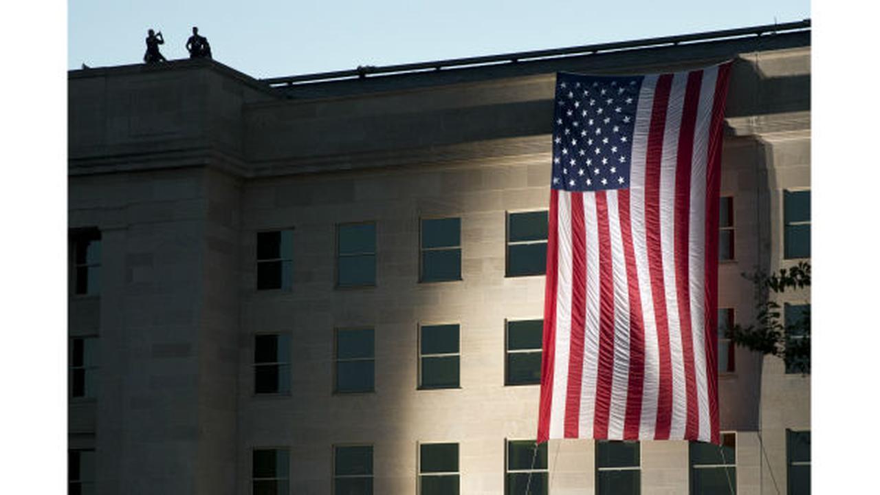 APTOPIX Pentagon Sept 11 AnniversaryJacquelyn Martin