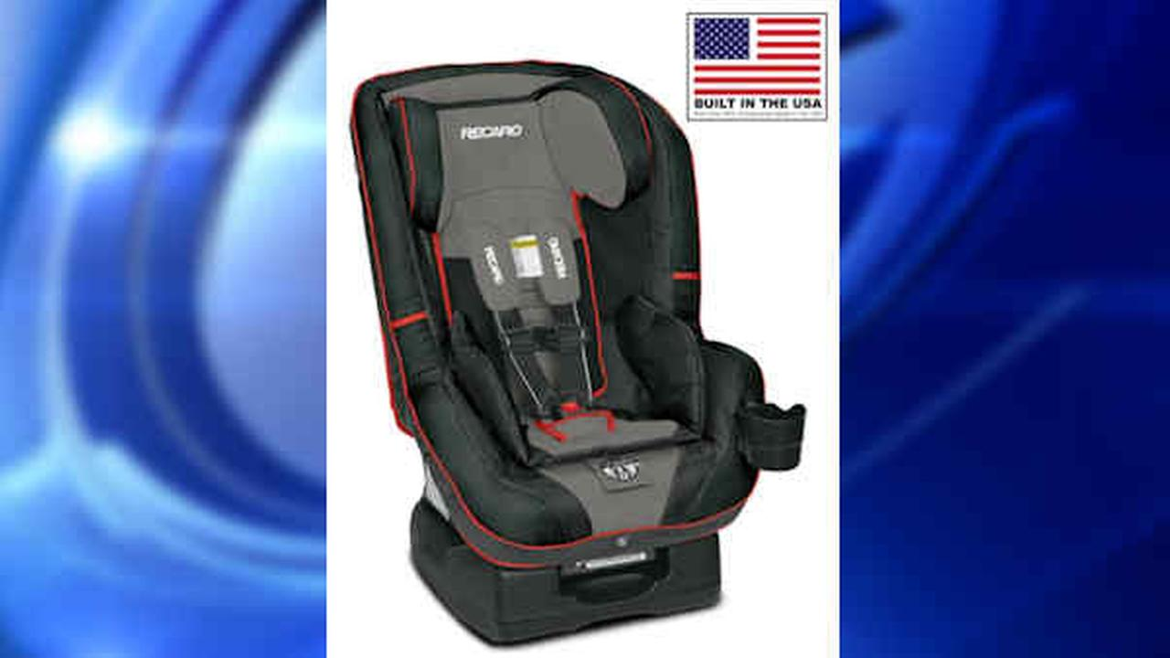 Recaro recalls child car seats because tether can come loose in crash