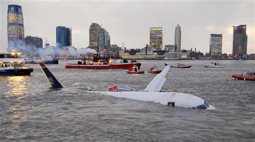 "<div class=""meta image-caption""><div class=""origin-logo origin-image none""><span>none</span></div><span class=""caption-text"">An Airbus 320 US Airways aircraft that went down in the Hudson River is seen in New York, Thursday, Jan. 15, 2009. (AP Photo/ Edouard H. R. Gluck)</span></div>"