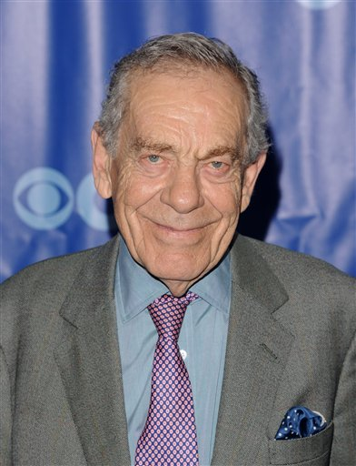 <div class='meta'><div class='origin-logo' data-origin='AP'></div><span class='caption-text' data-credit='AP Photo/Peter Krame'>Morley Safer attends the 2011 CBS Upfront party on Wednesday, May 18, 2011 in New York.</span></div>
