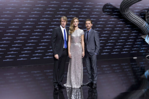 <div class='meta'><div class='origin-logo' data-origin='none'></div><span class='caption-text' data-credit='AP Photo/ Markus Schreiber'>From left, director Michael Bay and actors Rosie Huntington-Whiteley and Shia LaBeouf at the German premier of &#34;Transformer 3&#34; on June 25, 2011.</span></div>