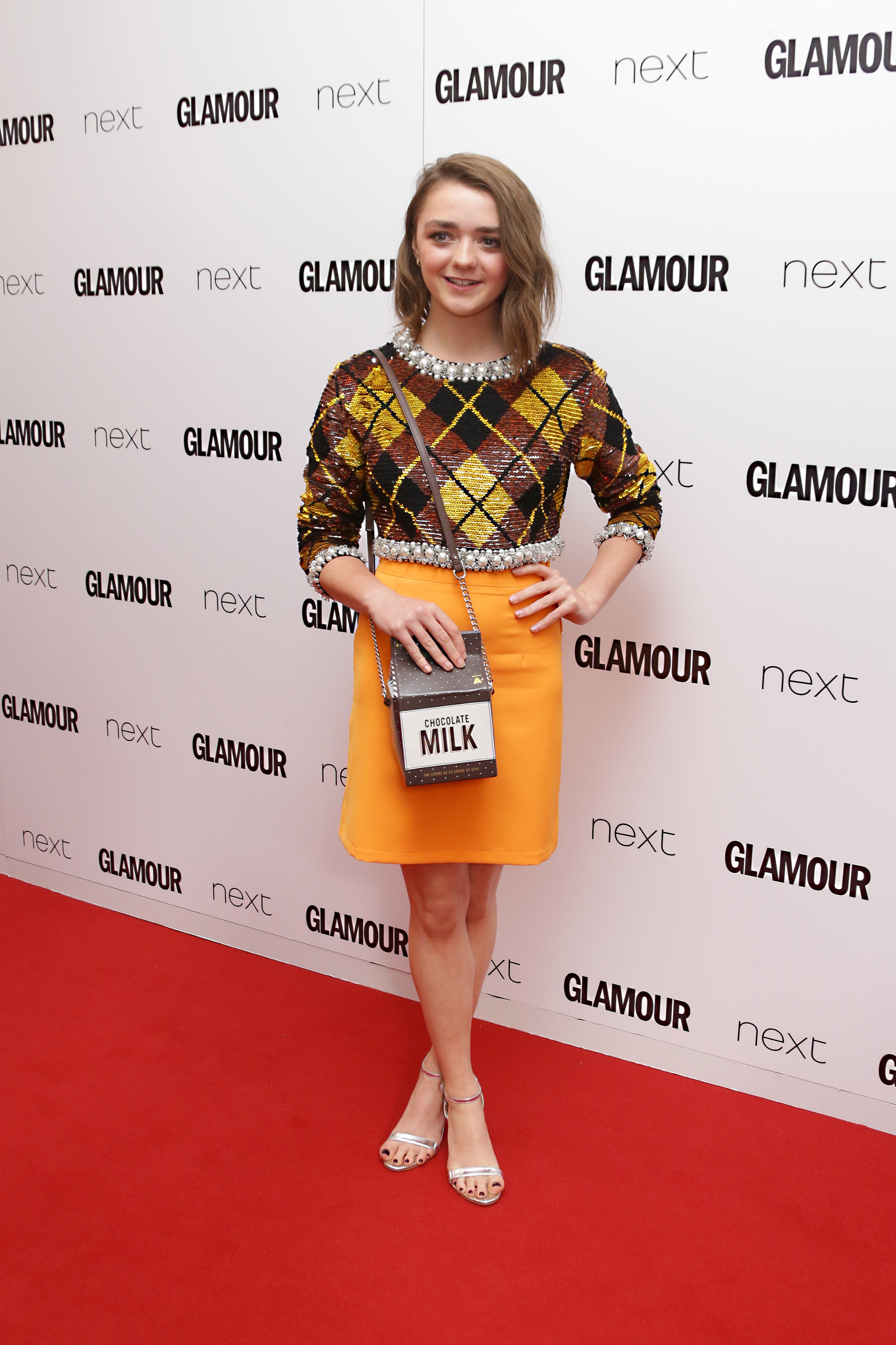 <div class='meta'><div class='origin-logo' data-origin='AP'></div><span class='caption-text' data-credit='Joel Ryan/Invision/AP'>Maisie Williams poses for photographers upon arrival at the Glamour Women Of The Year Awards in London, Tuesday, 2 June, 2015. (Photo by Joel Ryan/Invision/AP)</span></div>