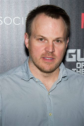 """<div class=""""meta image-caption""""><div class=""""origin-logo origin-image """"><span></span></div><span class=""""caption-text"""">Marc Webb attends a screening of """"Guardians of the Galaxy"""" in New York (Charles Sykes/Invision/AP)</span></div>"""