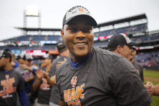 """<div class=""""meta image-caption""""><div class=""""origin-logo origin-image ap""""><span>AP</span></div><span class=""""caption-text"""">New York Mets relief pitcher Jeurys Familia walks off the field after the Mets defeated the Philadelphia Phillies 5-3. (AP)</span></div>"""