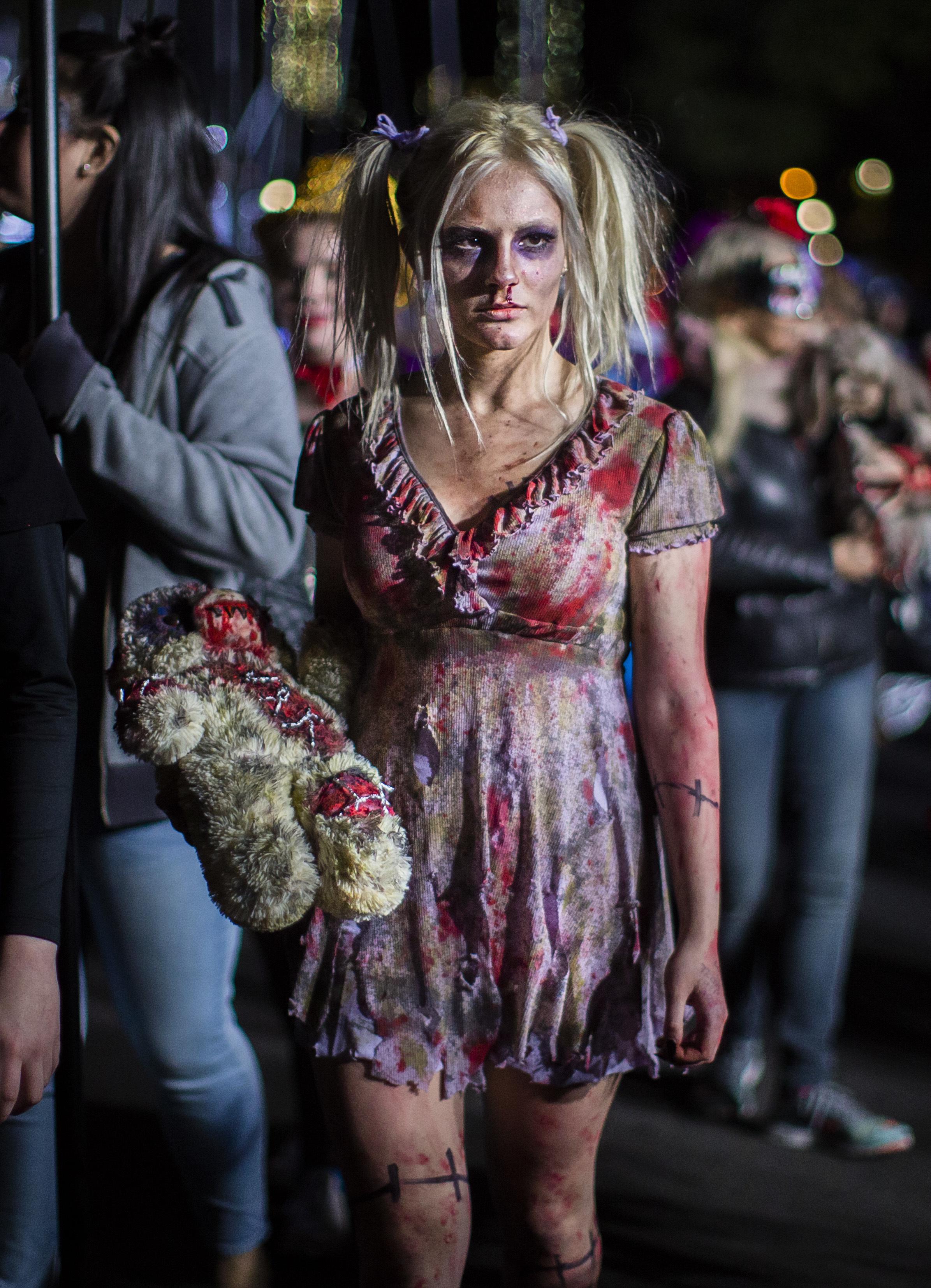 Iconic New York City Halloween parade marches on amid heavy ...