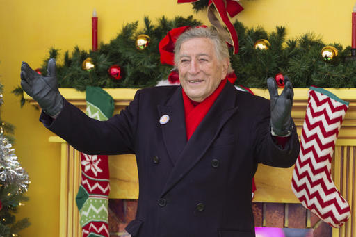 "<div class=""meta image-caption""><div class=""origin-logo origin-image none""><span>none</span></div><span class=""caption-text"">Singer Tony Bennett is seen during the Macy's Thanksgiving Day Parade on Thursday, Nov. 24, 2016, in New York. (Scott Roth/Invision/AP)</span></div>"