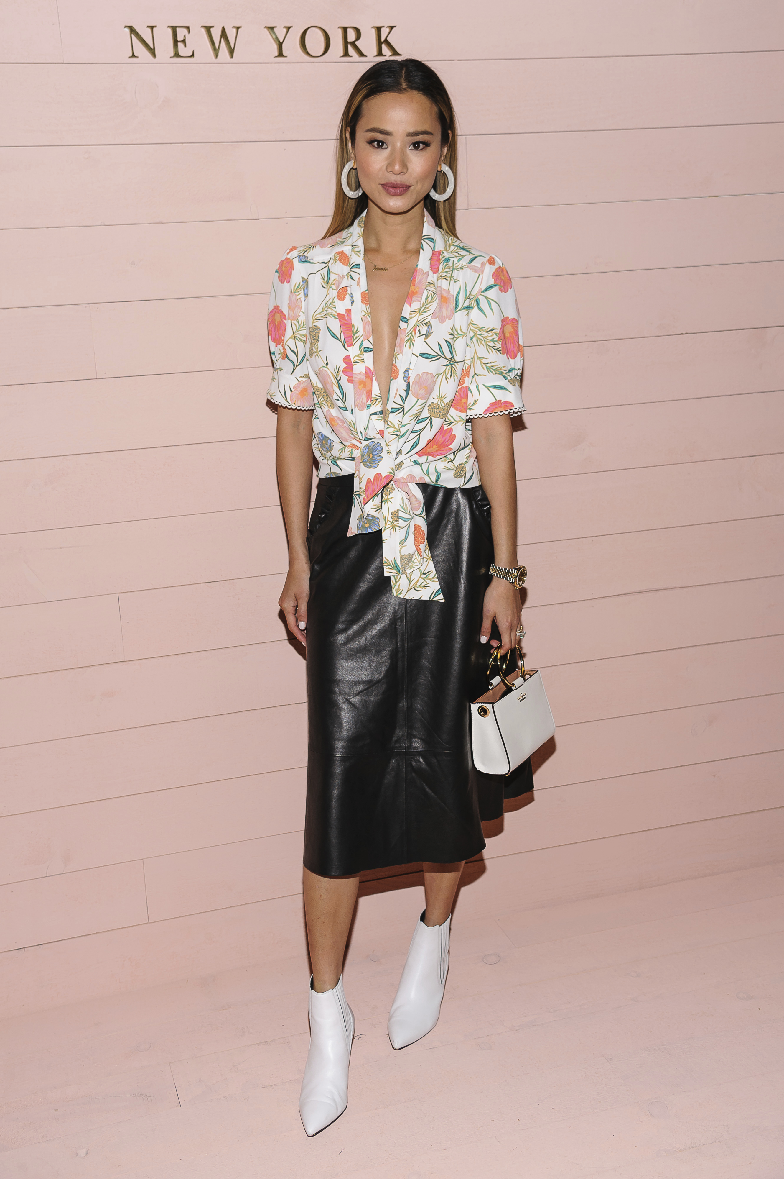 <div class='meta'><div class='origin-logo' data-origin='AP'></div><span class='caption-text' data-credit='Christopher Smith/Invision/AP'>Jamie Chung attends Kate Spade at Masonic Hall on Friday, February 8, 2018, in New York, NY. (Photo by Christopher Smith/Invision/AP)</span></div>