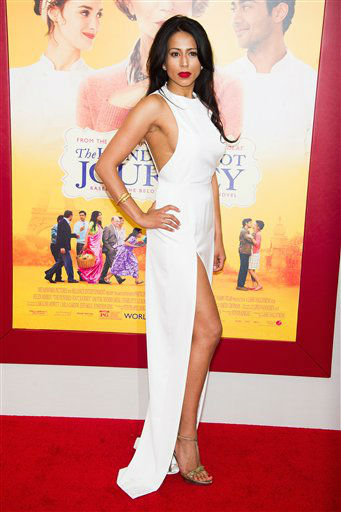 "<div class=""meta ""><span class=""caption-text "">Farzana Dua Elahe attends ""The Hundred-Foot Journey"" premiere on Monday, August 4, 2014 in New York. (Photo by Charles Sykes/Invision/AP)</span></div>"
