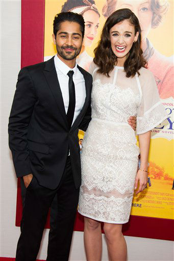 "<div class=""meta image-caption""><div class=""origin-logo origin-image ""><span></span></div><span class=""caption-text"">Manish Dayal and Charlotte Le Bon attend ""The Hundred-Foot Journey"" premiere on Monday, August 4, 2014 in New York. (Photo by Charles Sykes/Invision/AP)</span></div>"