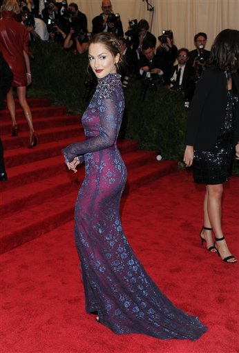 """<div class=""""meta image-caption""""><div class=""""origin-logo origin-image ap""""><span>AP</span></div><span class=""""caption-text"""">Actress Minka Kelly attends The Metropolitan Museum of Art  Costume Institute gala benefit on Monday, May 6, 2013 in New York. (Evan Agostini/Invision/AP)</span></div>"""