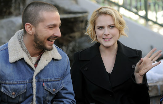 Shia LaBeouf and Evan Rachel Wood are interviewed about &#34;The Necessary Death of Charlie Countryman,&#34; on Jan. 22, 2013. <span class=meta>AP Photo/ Chris Pizzello</span>