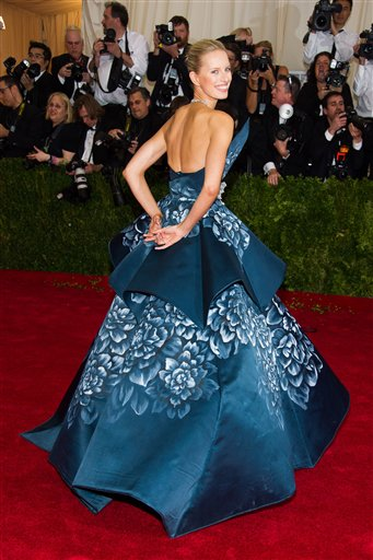 """<div class=""""meta image-caption""""><div class=""""origin-logo origin-image ap""""><span>AP</span></div><span class=""""caption-text"""">Karolina Kurkova  attends The Metropolitan Museum of Art's Costume Institute benefit gala celebrating """"Charles James: Beyond Fashion"""" on Monday, May 5, 2014, in New York. (Charles Sykes/Invision/AP)</span></div>"""