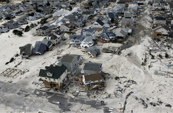 <div class='meta'><div class='origin-logo' data-origin='none'></div><span class='caption-text' data-credit='AP Photo/ Mike Groll'>This aerial photo shows the destroyed homes left in the wake of superstorm Sandy on Wednesday, Oct. 31, 2012, in Seaside Heights, N.J.</span></div>