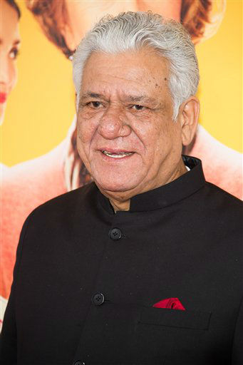 "Om Puri attends ""The Hundred-Foot Journey"" premiere on Monday, August 4, 2014 in New York. (Photo by Charles Sykes/Invision/AP)"