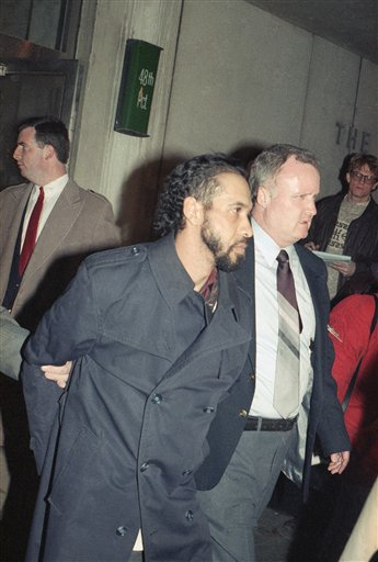 <div class='meta'><div class='origin-logo' data-origin='none'></div><span class='caption-text' data-credit='AP'>Julio Gonzalez, suspect in the Happy Land social club fire in the Bronx, New York City in March 1990. 87 people were killed in the arson incident. (AP Photo)</span></div>
