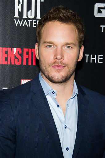"""<div class=""""meta image-caption""""><div class=""""origin-logo origin-image """"><span></span></div><span class=""""caption-text"""">Chris Pratt attends a screening of """"Guardians of the Galaxy"""" in New York (Charles Sykes/Invision/AP)</span></div>"""