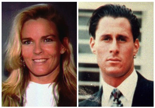<div class='meta'><div class='origin-logo' data-origin='none'></div><span class='caption-text' data-credit='AP Photo/File'>This photo shows O.J. Simpson's ex-wife Nicole Brown Simpson, and her friend Ron Goldman, both of whom were murdered and found dead in Los Angeles on June 12, 1994.</span></div>