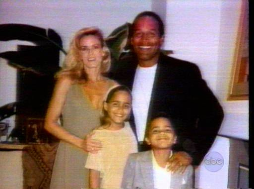 <div class='meta'><div class='origin-logo' data-origin='none'></div><span class='caption-text' data-credit='AP Photo/ABC'>O.J. Simpson with his wife Nicole Brown Simpson and their children Sydney and Justin.</span></div>