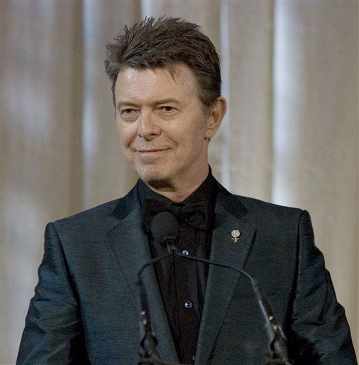 <div class='meta'><div class='origin-logo' data-origin='none'></div><span class='caption-text' data-credit='AP Photo/ STEPHEN CHERNIN'>David Bowie attends an awards show June 5, 2007 in New York.(AP Photo/Stephen Chernin)</span></div>