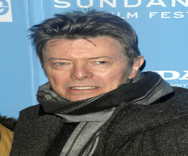 <div class='meta'><div class='origin-logo' data-origin='none'></div><span class='caption-text' data-credit='AP Photo/ Peter Kramer'>Singer David Bowie attends the premiere of &#34;Moon&#34; during the Sundance Film Festival in Park City, Utah, on Friday, Jan. 23, 2009. (AP Photo/Peter Kramer)</span></div>