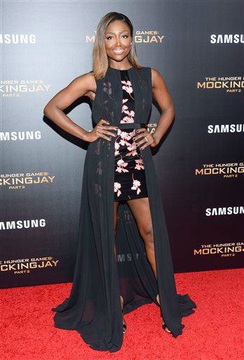 """<div class=""""meta image-caption""""><div class=""""origin-logo origin-image none""""><span>none</span></div><span class=""""caption-text"""">Actress Patina Miller attends a special screening of """"The Hunger Games: Mockingjay Part 2"""" in New York.  (Photo/Evan Agostini)</span></div>"""