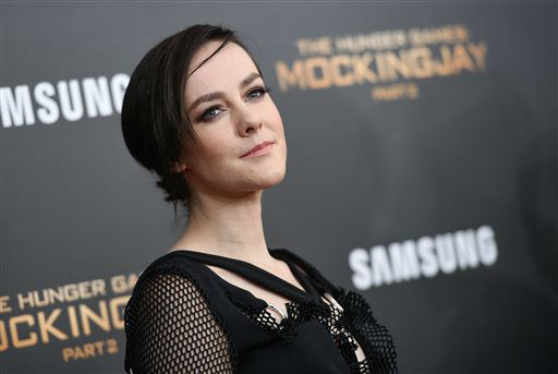 """<div class=""""meta image-caption""""><div class=""""origin-logo origin-image none""""><span>none</span></div><span class=""""caption-text"""">Actress Jena Malone attends a special screening of """"The Hunger Games: Mockingjay Part 2"""" in New York.  (Photo/Evan Agostini)</span></div>"""